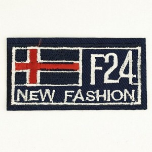 "Аппликация ""F24 New fashion"" (35*70мм, уп/10шт)"